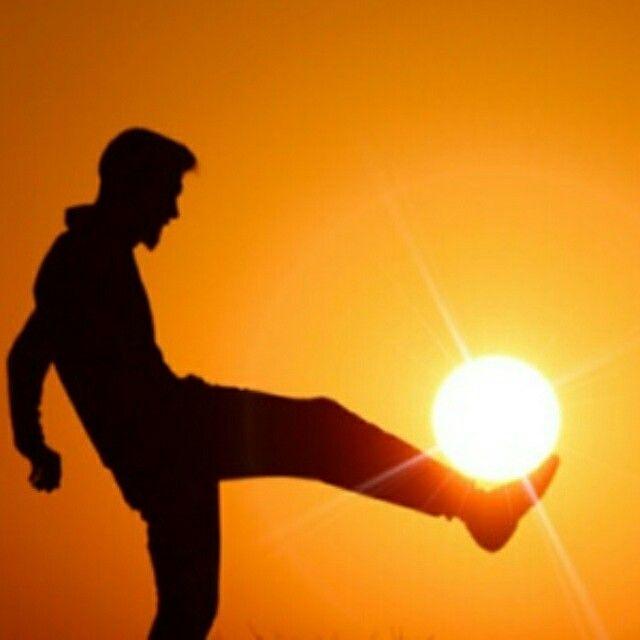 Sunshine sun football