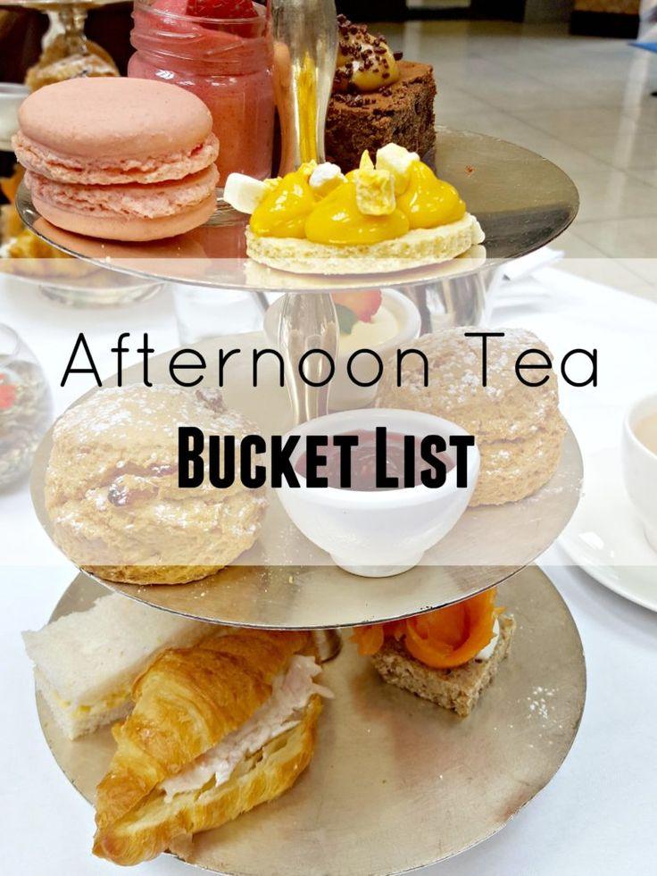 Afternoon Tea bucket list