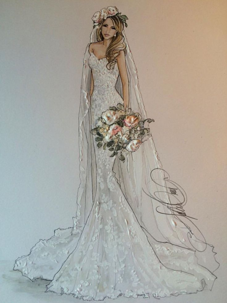 the 25 best wedding dress sketches ideas on pinterest