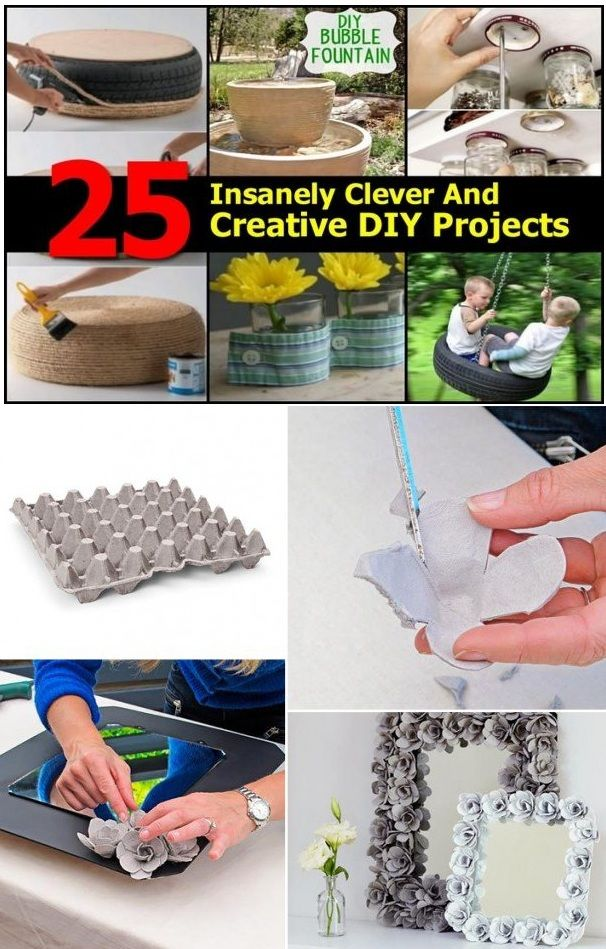 25 Insanely Clever Easy DIY Projects