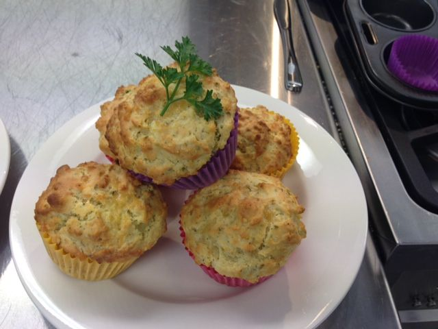nattive mint muffins
