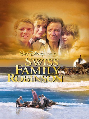 Swiss Family Robinson. 1960. Walt Disney. John Mills. Dorothy McGuire. James MacArthur. Janet Munro. Tommy Kirk.