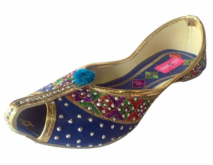 Step n Style Handmade Punjabi Jutti Khussa Indian Shoes Wedding Shoes Bridal Shoes * Read more  at the image link.