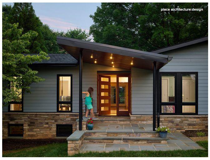 Ranch house exterior
