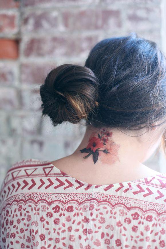 Flower Ink.