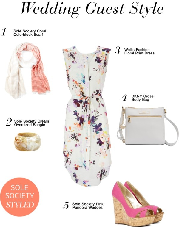 """""""Wedding Guest Style"""" by solesociety on Polyvore"""