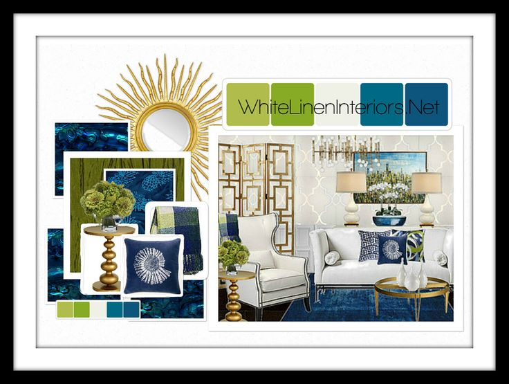 Pantone Color Of The Year 2013 Emerald Mood Board