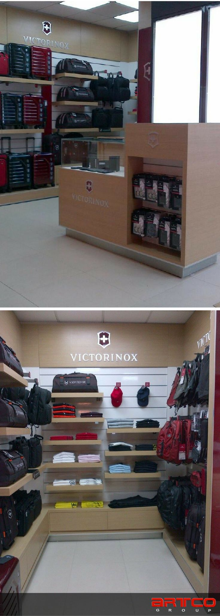 manufacture design of store fixtures by artco group retaildesign storedesign