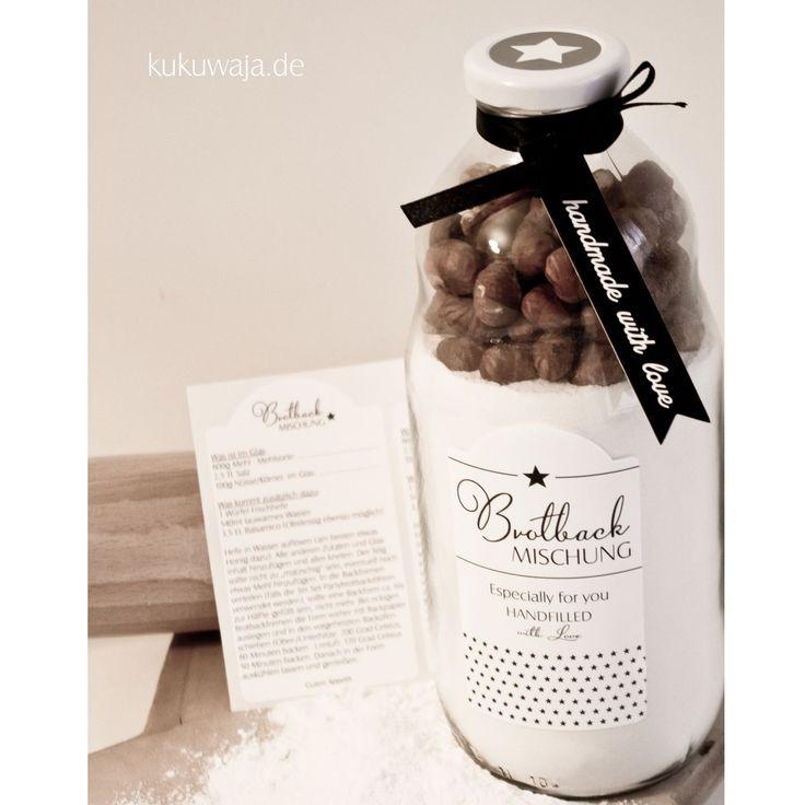 1000+ ideas about Brotbackmischung Im Glas on Pinterest - geschenke für die küche
