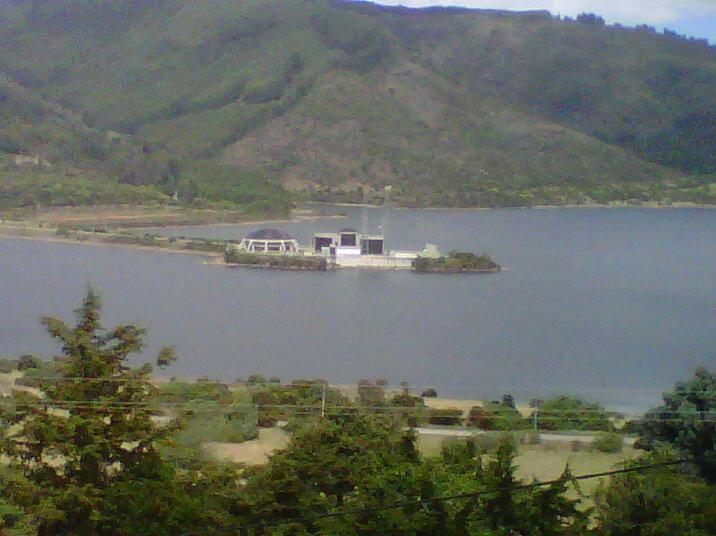 Represa de San Rafael, via La Calera