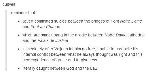 i can't even with the symbolism in les miserables