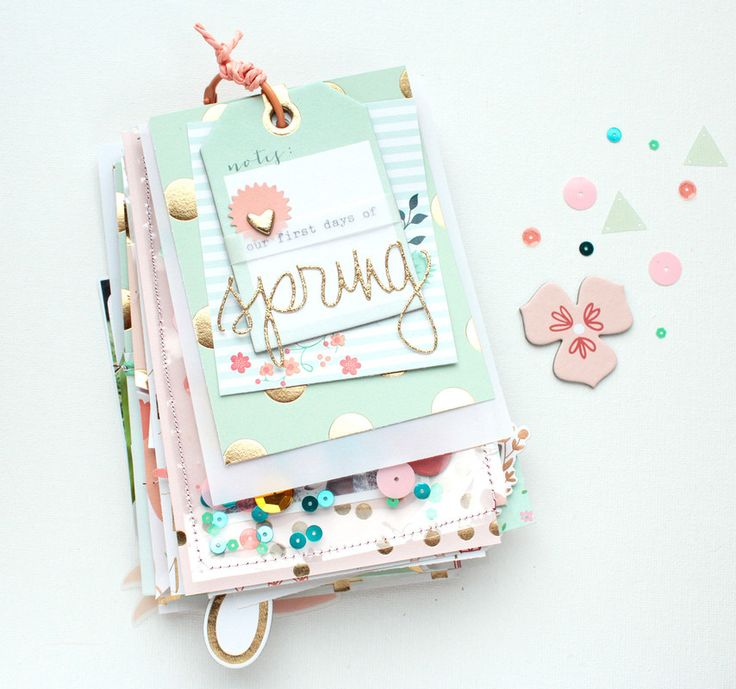 "Mini Album ""Our First Days Of Spring 2015"" by SteffiandAnni at @studio_calico"