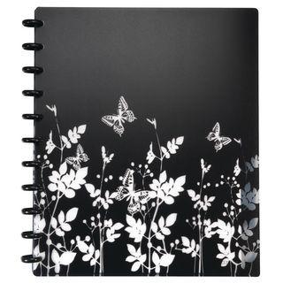 M by Staples Blocco ARC A4, 60 pagine a righe, copertina in PPL con disegno di farfalle