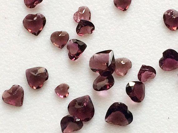 WHOLESALE 12 Pcs 5 CTW 3mm  6mm Each Rhodolite by gemsforjewels