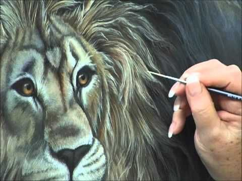 How to Paint Animal Fur with Acrylics:Acrylic Painting Techniques