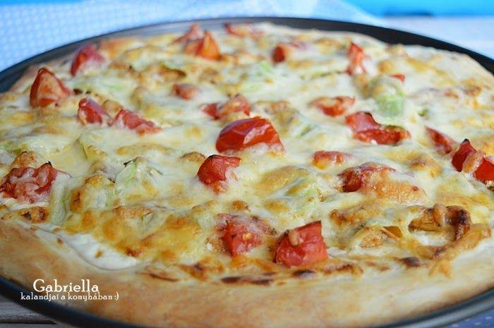 Gabriella kalandjai a konyhában :): Pizza görögös feltéttel