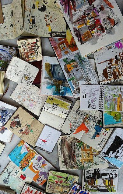 sketchbooks