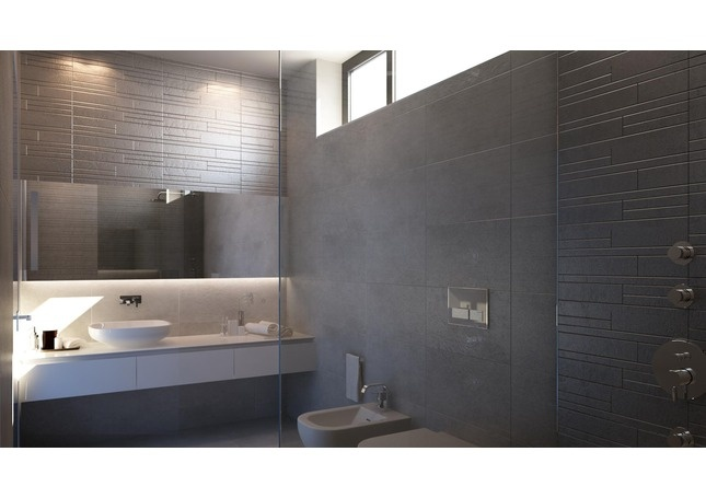 Minimalist Bathroom Pinterest : Modern minimalist bath masculine and