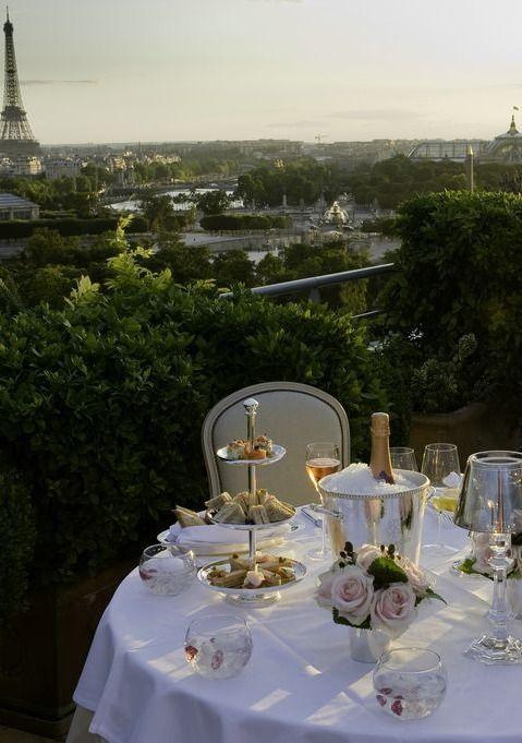 fine dining at Le Meurice Restaurant, Paris ~ Colette Le Maison @}-,-;—