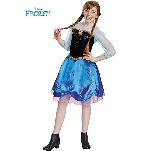Disguise Anna Traveling Tween Costume @ niftywarehouse.com #NiftyWarehouse #Frozen #FrozenMovie #Animated #Movies #Kids