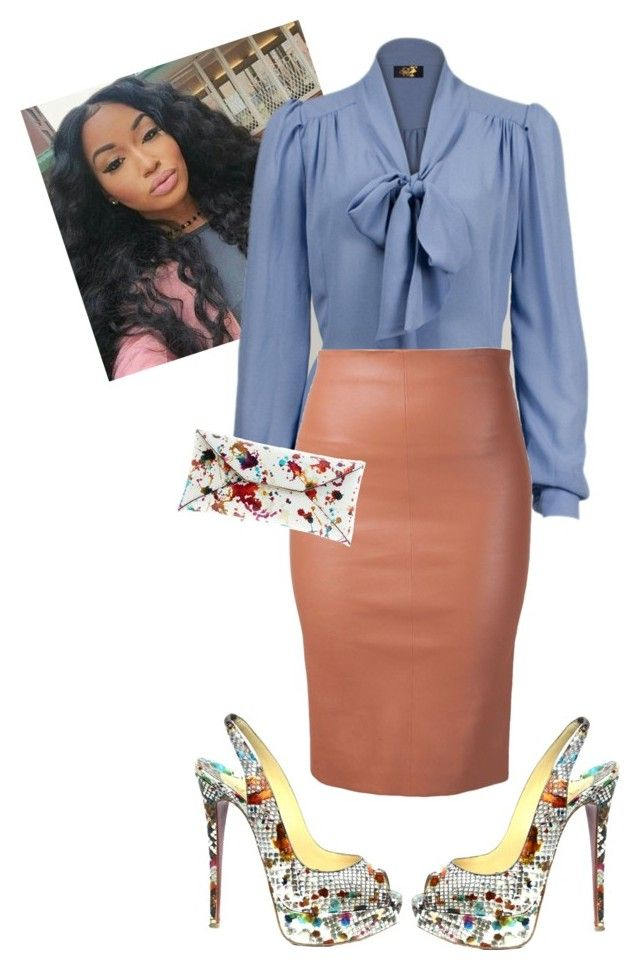 """""""Cogic Aim Morning Manna #iloveaim"""" by cogic-fashion on Polyvore featuring Brunello Cucinelli, Christian Louboutin and VBH"""