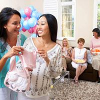 second baby shower themes sleepover spa party