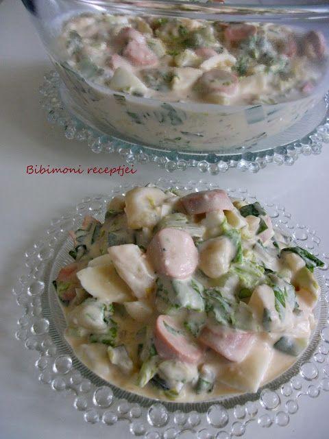 Virsli saláta , ahogyan mi készítjük