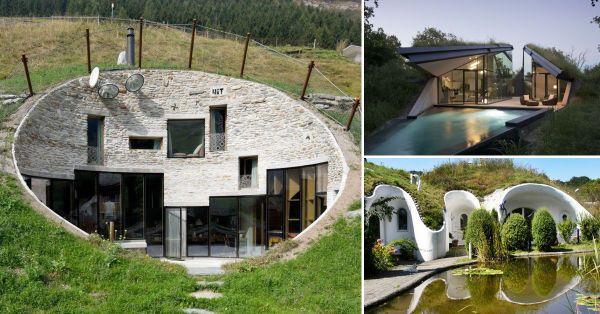 Mira estas increíbles casas bajo tierra