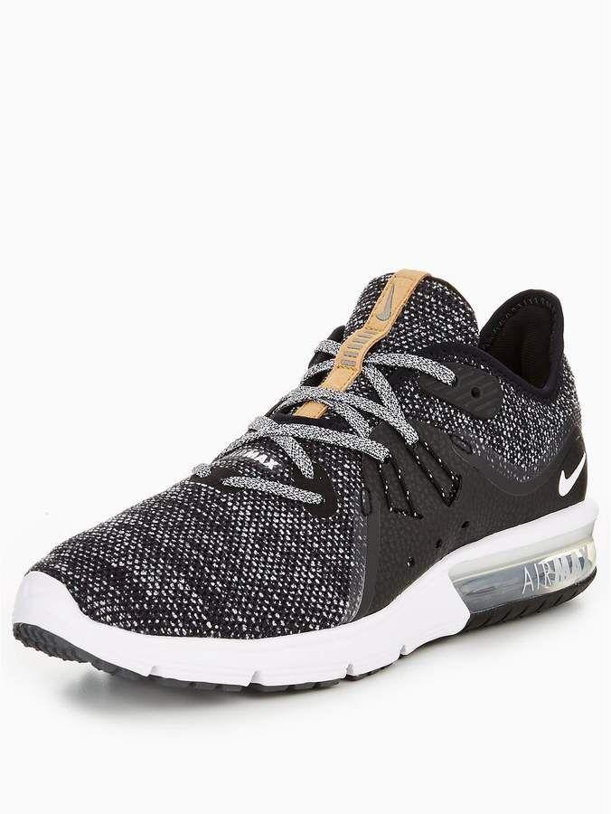 Nike Air Max Sequent 3 - Black/White