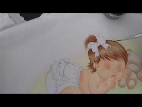 Como pintar cabelo comprido - YouTube