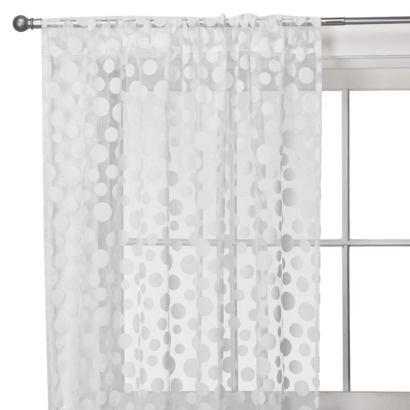 Target. Xhilaration. Dot Window Sheer. $17.99 19.99. +white +sheer