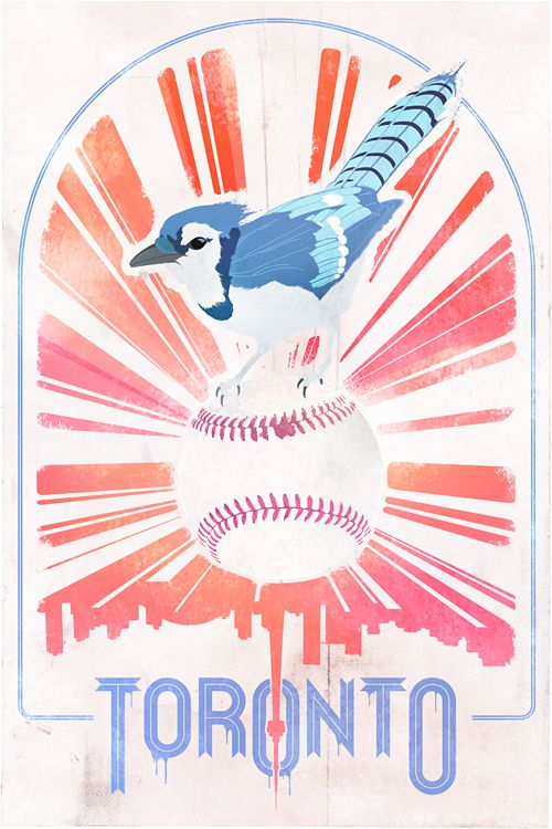 Beautiful blue jay - the mascot for Toronto, Canada's own baseball team the Blue Jays!