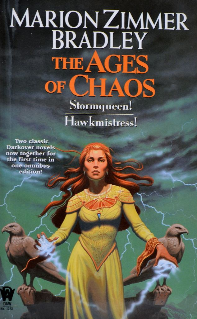 Stormqueen & Hawkmistress - Marion Zimmer Bradley (Darkover Omnibus), Cover artist: Romas Brandt Kukalis