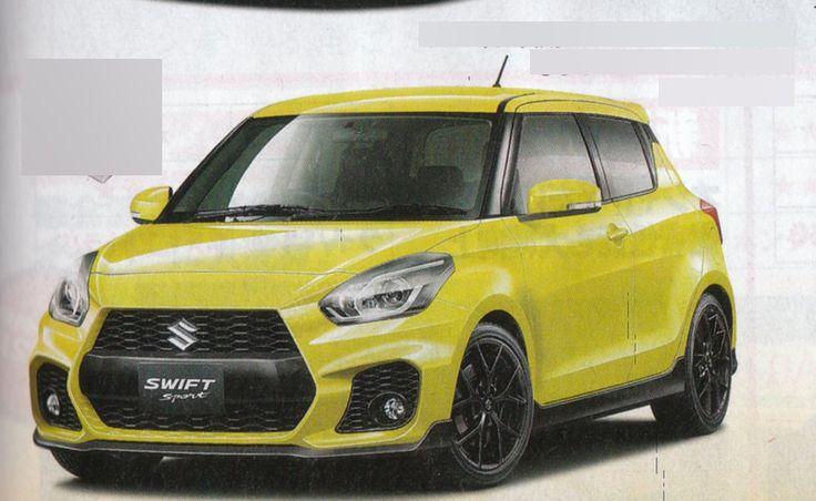 Recap - 2017 #Suzuki #Swift Sport front & rear render