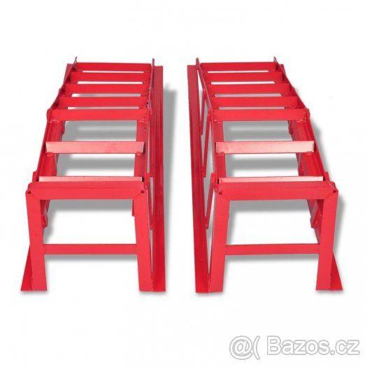 Nájezdové rampy - servisní nájezdy pro auta 2000kg, 2tuny. - 1