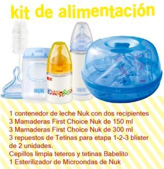 Kit de Alimentación Nuk (0 a 18 meses)