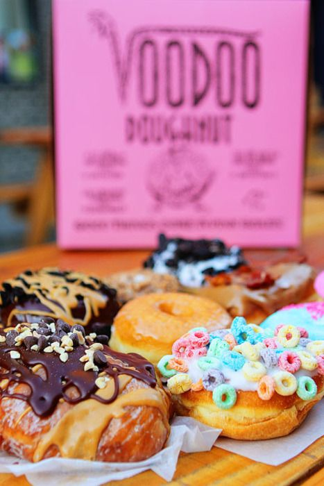 Voodoo doughnuts, I want to go there some day
