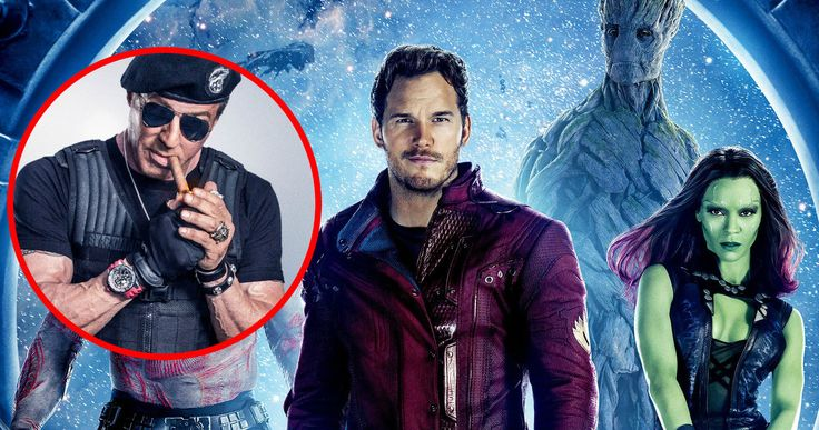 Is Sylvester Stallone This Crossover Character in 'Guardians of the Galaxy 2'? -- Sylvester Stallone was spotted on the set of 'Guardians of the Galaxy 2' wearing a very familiar costume. -- http://movieweb.com/guardians-galaxy-2-sylvester-stallone-dc-judge-dredd/