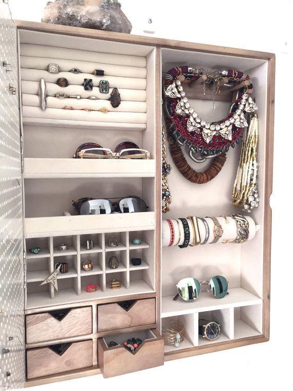 Resultado de imagen para organizador de joyas colgante