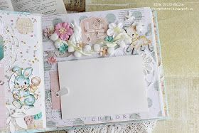 привет девочки,   сегодня с вами я Анна Солнышкина, буду вдохновлять потрясающей бумагой HEAVEN SENT ,   которая меня вдохновила на созда...