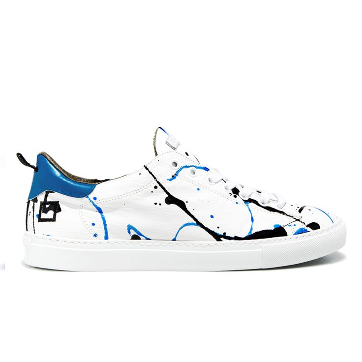 Spring Summer 2015 D.A.T.E. Sneakers Collection / Italian design/ Ace Pollock Blue:www.date-sneakers.com