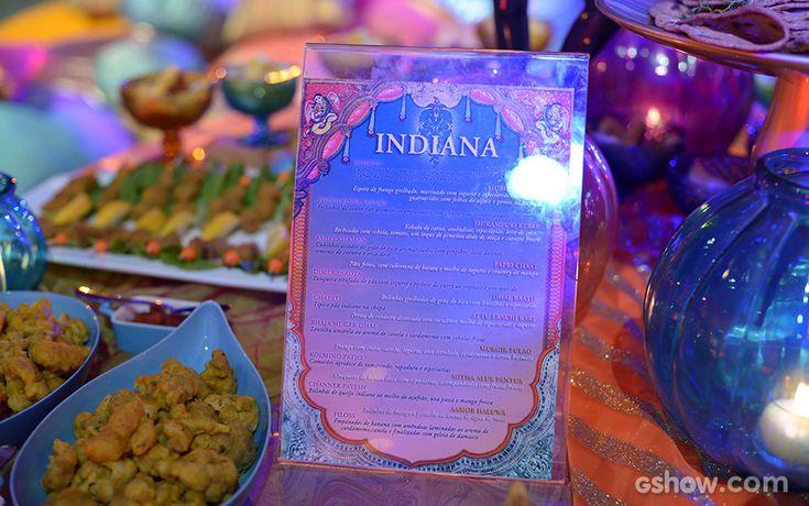 No cardápio da Festa Indiana, comidas típicas para os confinados