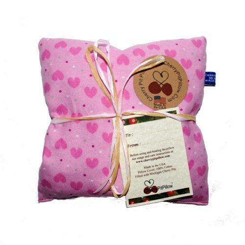 Pink Snuggly Kids Cherry Pit Pillow - For Muscle, Joint, Stomach Pain - Cherry Stone Heat Pack - Heat Pad - Unique Christmas or Birthday Present - Made in America CherryPitPillow http://www.amazon.com/dp/B00K30W6AO/ref=cm_sw_r_pi_dp_uE4Uvb0HYDV9F