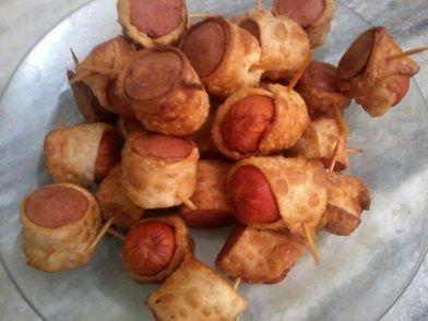 Imagem da receita Espetinho de salsicha