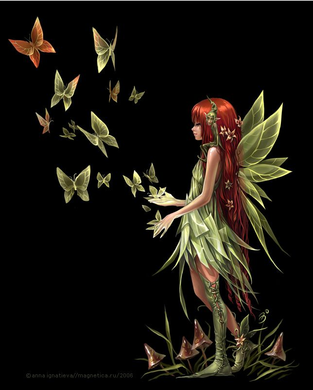 similar to this, but draw holding a book whose pages turn into butterflies, different color scheme and pose