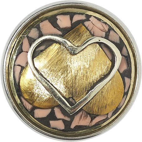 NOOSA-Amsterdam Celtic Hearts Chunk®: These Celtic Hearts are inspired by Celtic Knots and represent eternity and the everlasting; this can be in love, faith, loyalty and friendship.