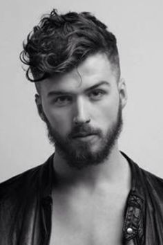 Fantastic 1000 Ideas About Men Curly Hairstyles On Pinterest Men With Hairstyle Inspiration Daily Dogsangcom