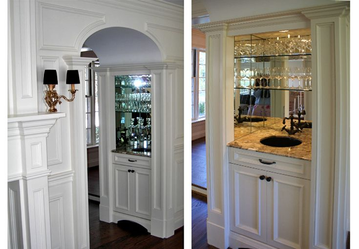 Small Built in Bars | Home Wet Bar Ideas | Bars for home ...