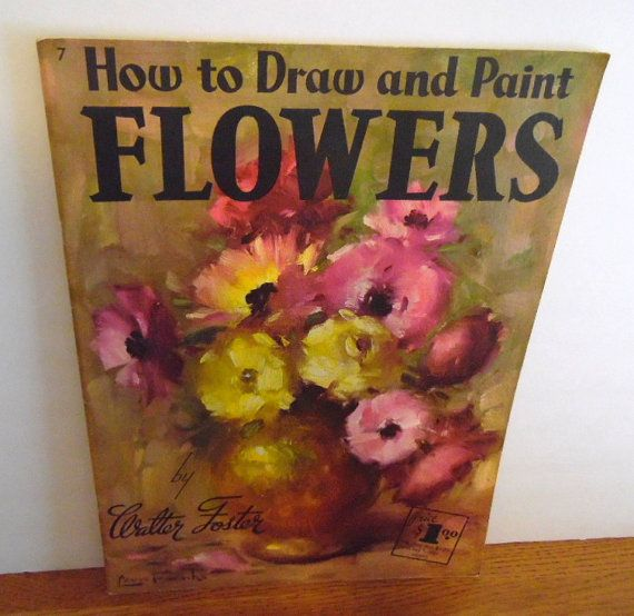 Art how to book by Walter Foster.  How to Draw & Paint