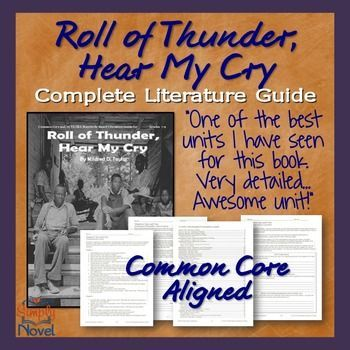 A literary analysis of the novel roll of thunder hear my cry